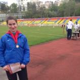 Новосибирская легкоатлетка-паралимпиец завоевали две медали на Всероссийских соревнованиях
