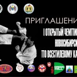 Первые чемпионат и первенство Новосибирской области по Всестилевому каратэ пройдут в Новосибирске