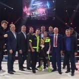 Михаил Алоян победно дебютировал на профессиональном ринге