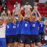 Сурдлимпиада: новосибирские волейболисты вышли в 1/4 финала