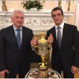 Новосибирские самбисты привезли домой из Лондона Кубок Президента