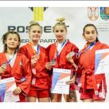 Новосибирские девушки выиграли медали первенства мира по самбо