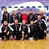 Новосибирские слабовидящие футболисты вернулись с «серебром» с чемпионата России
