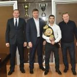 О том, как прошёл третий профессиональный бой Михаила Алояна