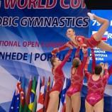 Этап Кубка мира по спортивной аэробике: новосибирская спортсменка завоевала золотую медаль