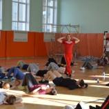Чемпионка мира по бодифитнесу помогает новосибирцам пройти 100 шагов навстречу ЗОЖ