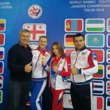 Олинда Храпунова - победитель первенства мира по самбо
