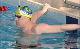 Три золота Константина Тычкова на чемпионате России по плаванию.