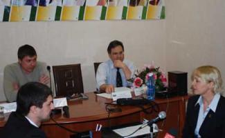 Прошла пресс-конференция, посвященная Чемпионату и перв-у РФ по спортивной аэробике