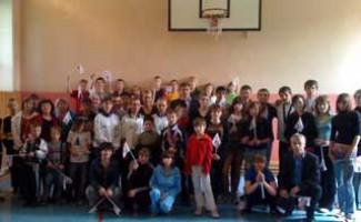 «Веселые старты» в День защиты детей