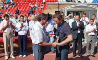 День физкультурника на стадионе «Спартак»