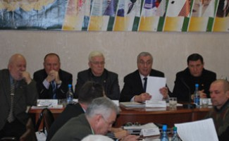 Заседание президиума Олимпийского совета НСО