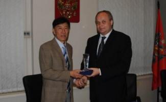Юрий Нагорных встретился с президентом Пекинского университета спорта.