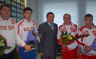 Провожаем новосибирцев на I летние юношеские Олимпийские игры