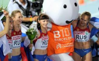 Российские легкоатлеты выиграли общекомандный зачет Чемпионата Европы в Барселоне