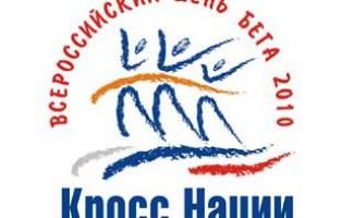 Всероссийский день бега «Кросс Наций - 2010» в Новосибирске