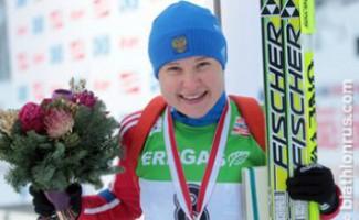 Анна Богалий-Титовец поднялась на две позиции вверх в общем зачете Кубка мира по биатлону