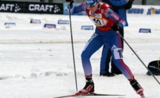 Новосибирка выигрывает первенство России по лыжным гонкам