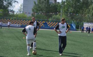Футбольной этап XVIII спартакиады районов и администраций города Новосибирска
