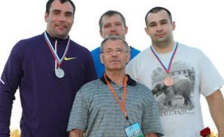 Новосибирец завоевал серебро в толкании ядра