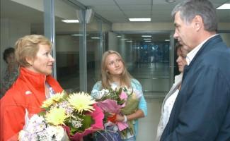 Екатерина Рабая вернулась в Новосибирск
