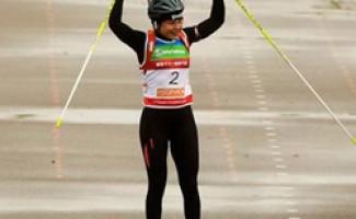 Двукратная олимпийская чемпионка стала первой в гонке преследования