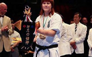 Мария Панова - бронзовый призер кубка Европы по киокусинкай