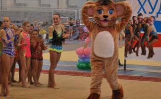 Лигренок - талисман Международных детских Игр на турнире красоты и грации