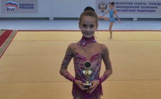 Каждая гимнастка завоевала свой приз…