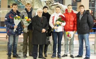 Встреча спортсменов НЦВСМ