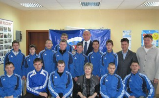 Встреча Александра Карелина с молодыми спортсменами из команды «Ермак - Сибирь».