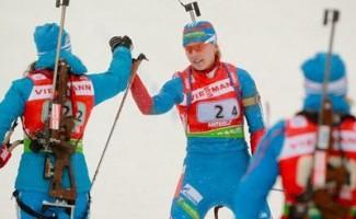 Ольга Вилухина – бронзовый призер этапа Кубка мира по биатлону.