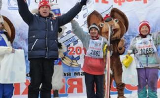 Более 14 тысяч участников собрала «Лыжня» в Новосибирской области