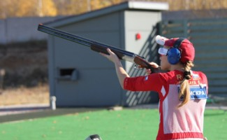 Еще одна медаль чемпионата России  по стендовой стрельбе