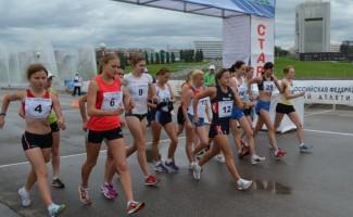 Серебро Ольги Дубровиной на Кубке России по спортивной ходьбе.