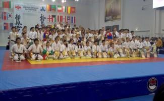 Медали с первенства мира по карате новосибирских спортсменов