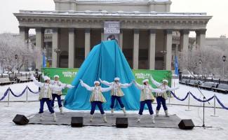 В Новосибирске начат отсчет времени до Сочинской Олимпиады