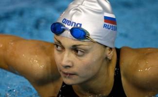 Валентина Артемьева – лучшая спортсменка первого дня Чемпионата России -2013 по плаванию