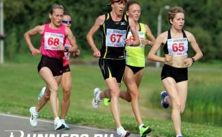 Алла Кулятина - победительница Чемпионата России по полумарафону
