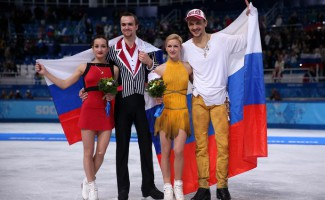 Золото и серебро российских фигуристов на Олимпиаде в Сочи