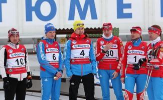 Марина Черноусова - бронзовый призер чемпионата России по лыжным гонкам