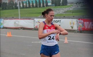 Ольга Дубровина стала второй на первенстве России по спортивной ходьбе