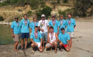 35 медалей привезли новосибирские подводники с Кубка России!