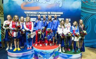 Новосибирские спортсменки завоевали первые медали чемпионата России по плаванию