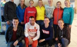 Новосибирские легкоатлеты вернулись из Московской области с наградами