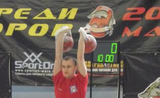 Евгений Бутенко снова лучший на первенстве Европы по гиревому спорту