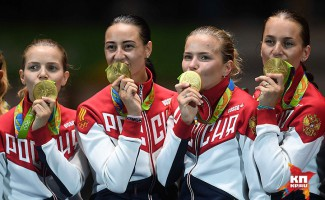 Олимпийское золото Юлии Гавриловой в Рио!