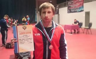 Константин Макаров - серебряный призер Кубка России по пауэрлифтингу