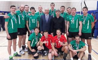 Новосибирские волейболисты – серебряные призеры Кубка России