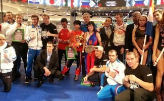 Ананьева Светлана - чемпионка мира по савату среди профессионалов